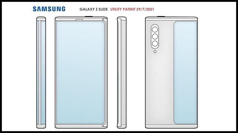 Bằng sáng chế thiết bị gập mới của Samsung