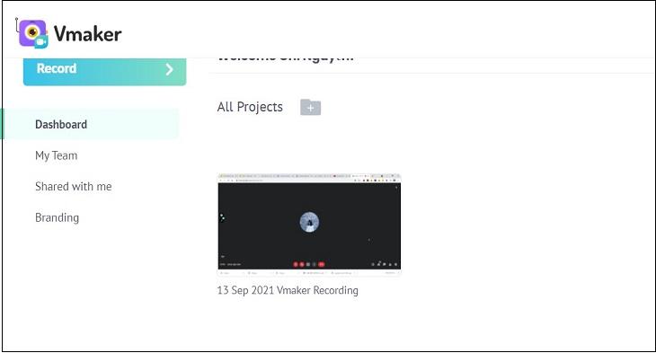 Quá trình ghi cuộc họp Google Meet đã hoàn tất.