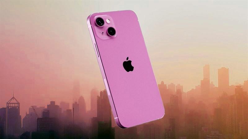 Lộ concept iPhone 13 màu hồng cực đẹp, kỳ này thì 'hết nước chấm'