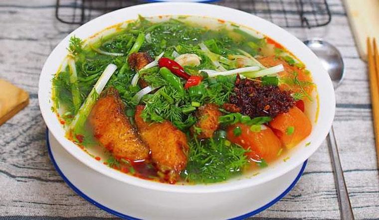 Cách nấu bún cá Hà Nội thơm ngon chuẩn vị