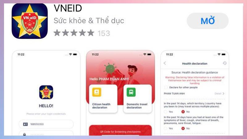 Tải app VNEID