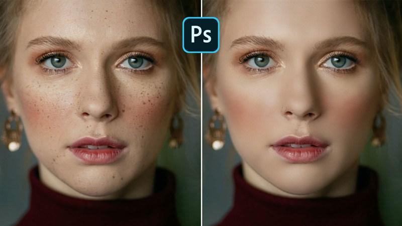 Cách làm mịn da trong Photoshop