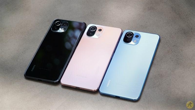 Xiaomi 11 Lite 5G NE được cho là có thiết kế tương tự Mi 11 Lite 4G