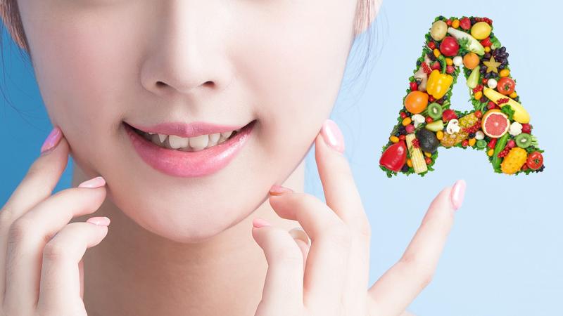 Vitamin A giúp đẹp da, chống lão hóa