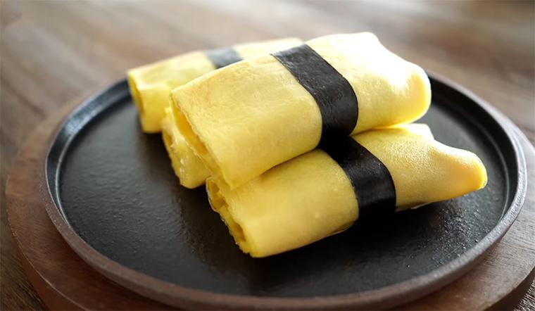 Cách làm sushi trứng thơm ngon hấp dẫn tại nhà