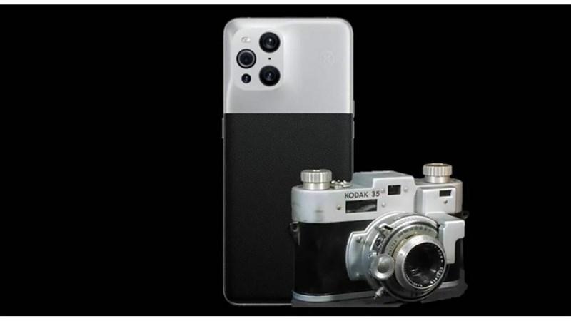 Ảnh minh họa smartphone OPPO hợp tác cùng hãng Kodak