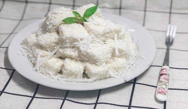 Cách làm bánh sữa lăn dừa mềm mịn dễ tan trong miệng