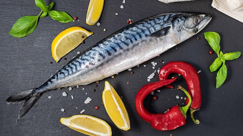 Cá thu Đại Tây Dương cung cấp nhiều vitamin B2