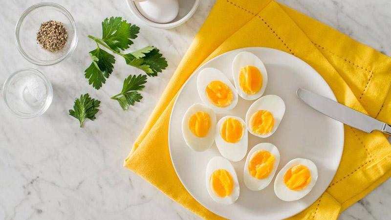 Trứng là nguồn cung cấp vitamin B2 quan trọng