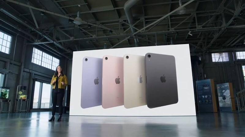 iPad Mini 6 cũng có thiết kế vuông vắn tương tự như những chiếc iPhone 12 hay iPad Pro.