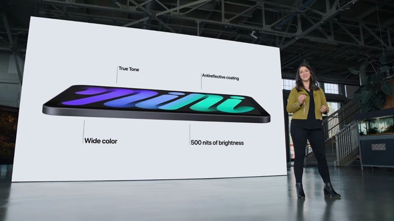 pple đã nâng cấp màn hình của iPad Mini 6 lên kích thước 8.3 inch.