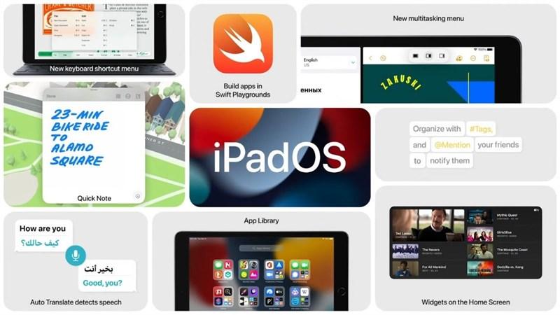 iPad Mini 6 sẽ chạy trên iPadOS 15 với nhiều sự cải tiến và tính năng mới.