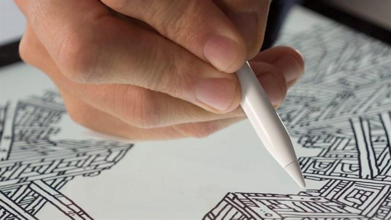 Apple Pencil đang trở thành một trợ thủ đắc lực cho những bạn làm các công việc sáng tạo trên iPad.
