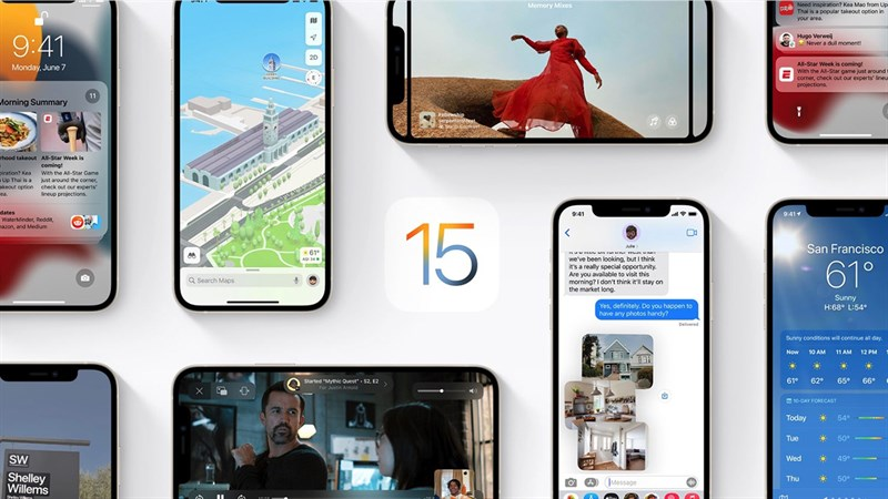 Apple chính thức công bố ngày ra mắt iOS 15, iPadOS 15 và watchOS