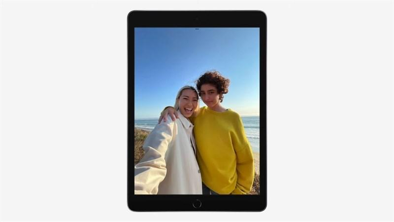 iPad Gen 9 được trang bị màn hình Retina kích thước 10.2 inch.