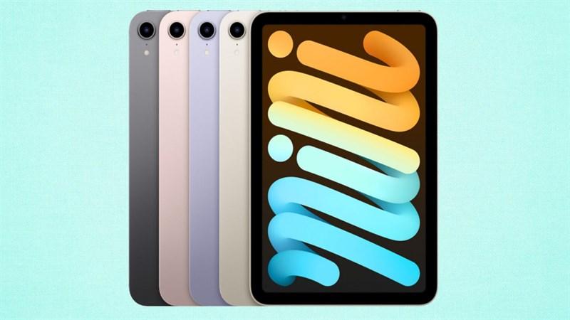 Giá bán chính thức của iPad mini 6 tại Việt Nam