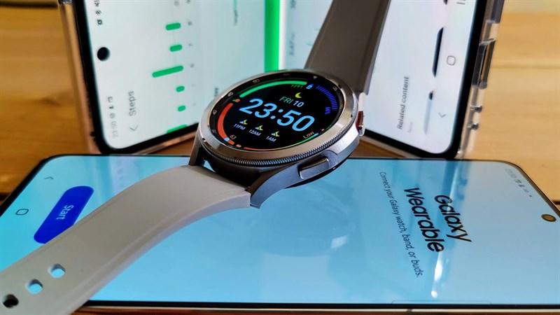 Cách kết nối Samsung Galaxy Watch 4 với điện thoại