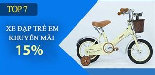 Top 7 xe đạp phù hợp trẻ em 4 - 6 tuổi, giảm giá 15% dịp Trung Thu tại Điện máy XANH
