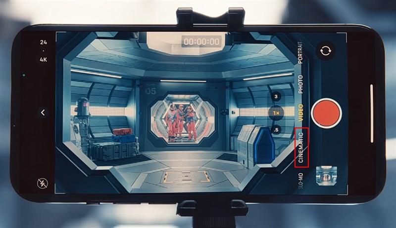 Cách dùng Cinematic Mode trên iPhone 13