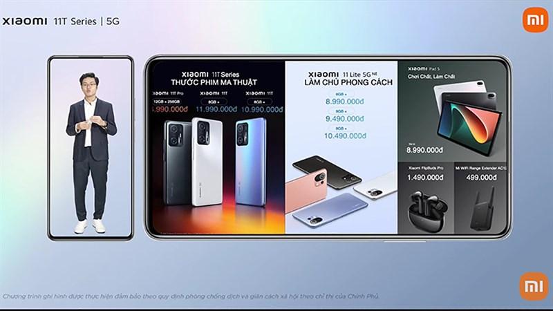 Xiaomi trình làng loạit sản phẩm tại thị trường Việt Nam