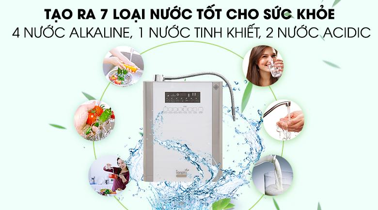 Nước ion kiềm bạn có thể sử dụng trực tiếp mà không cần phải đun sôi