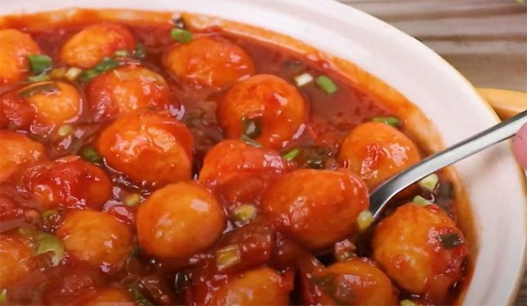 Cách làm trứng cút sốt cà siêu ngon cực hấp dẫn tại nhà