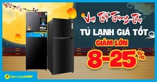 Flashsale Trung Thu - Tủ lạnh sale giá SỐC, giảm đến 25%, giá tốt có trả góp