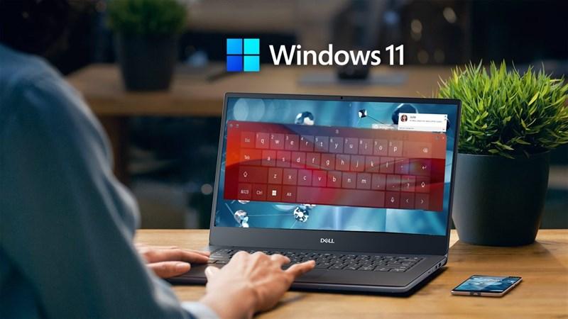 cách thay đổi kích thước bàn phím ảo máy tính trên Windows 11