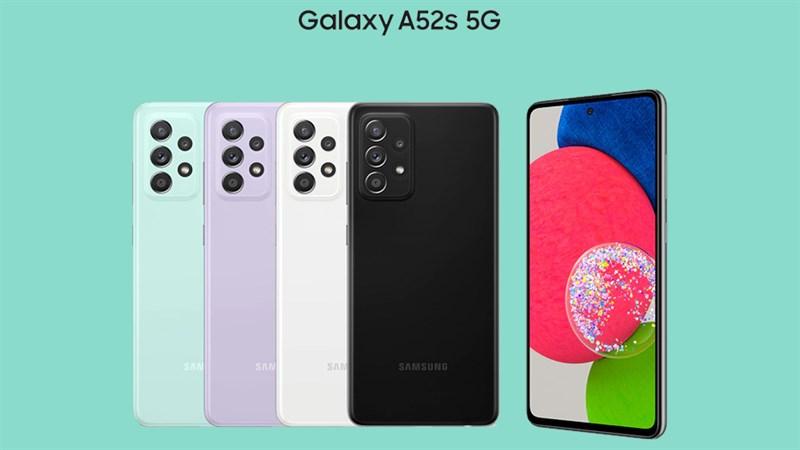 Galaxy A52s 5G có mấy màu?
