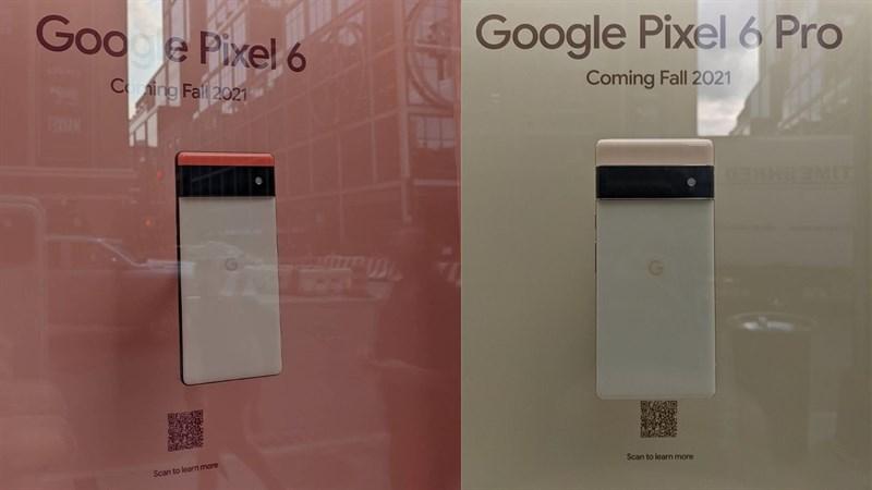 Google trưng bày dòng Pixel 6 tại cửa hàng truyền thống ở New York