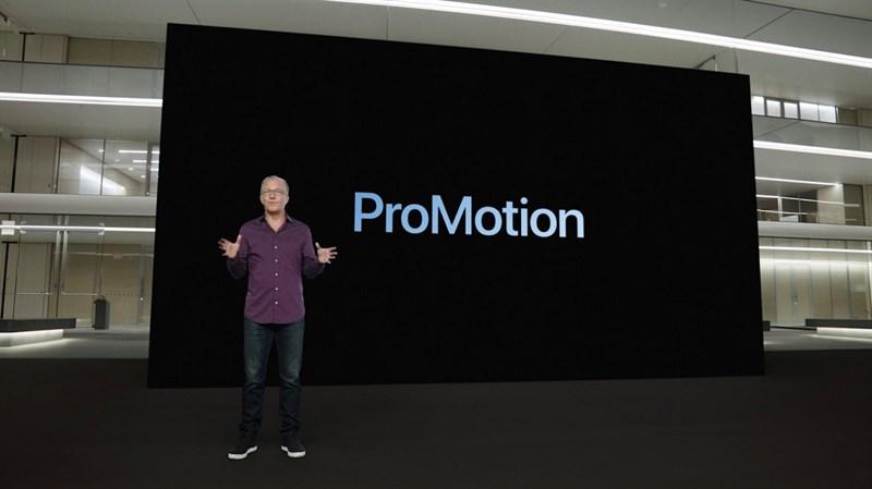 Công nghệ ProMotion trên iPhone 13 Pro