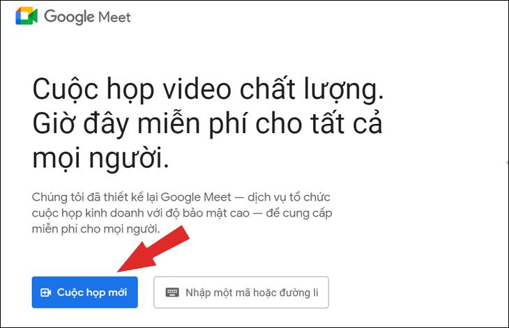 Giáo viên tạo các khóa học trong Google Meet