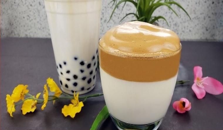 Hướng dẫn cách làm cà phê bọt biển trân châu đường đen siêu hot, siêu ngon