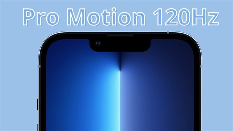 Sẽ chỉ có một mẫu iPhone 14 không có màn hình ProMotion 120Hz