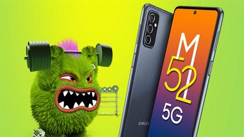 Galaxy M52 5G được ấn định ngày ra mắt: Màn hình 120Hz, ba camera sau với cảm biến chính 64MP và pin lớn