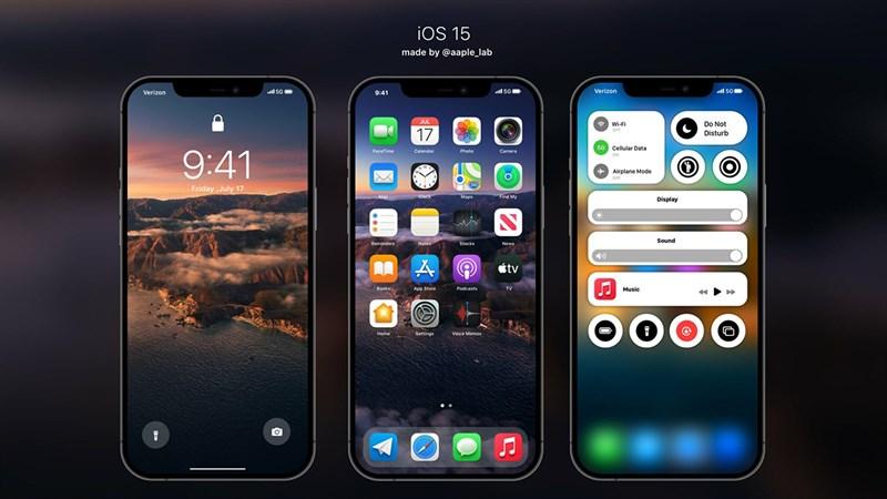 Đây là thời gian chính thức ra mắt iOS 15, iPadOS 15, watchOS 8 tại VN