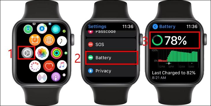 Đây là cách xem phần trăm pin trên Apple Watch