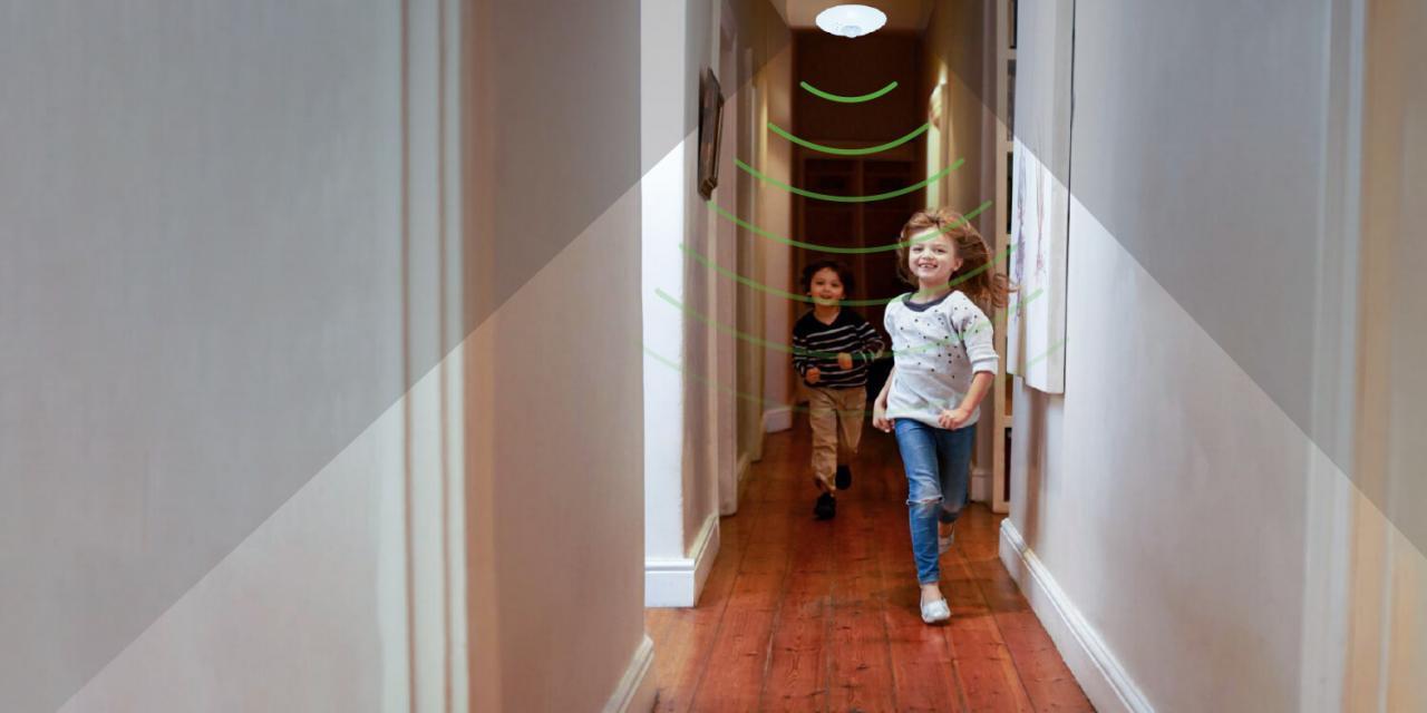 Cảm biến chuyển động bảo vệ an toàn cho gia đình