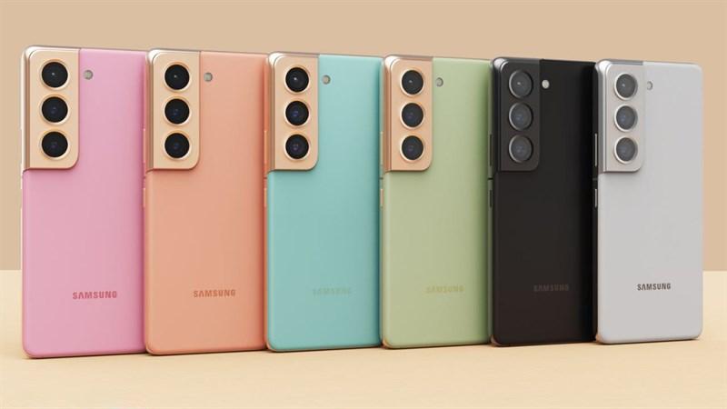 Hình ảnh render Galaxy S22+: Cụm camera to tướng, 6 màu sắc thích mê!