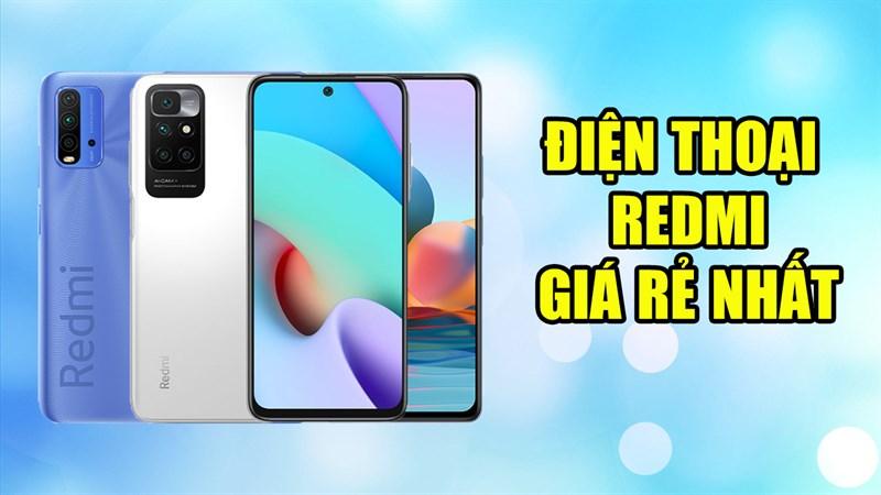 Điện thoại Redmi giá rẻ