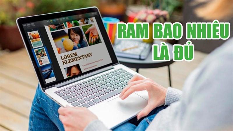 Mua laptop bao nhiêu RAM