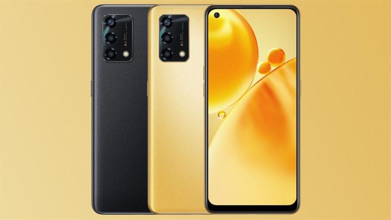OPPO F19s lộ ảnh render rõ nét: Có thêm phiên bản màu vàng sang chảnh, camera chính 48MP và cảm biến vân tay ẩn
