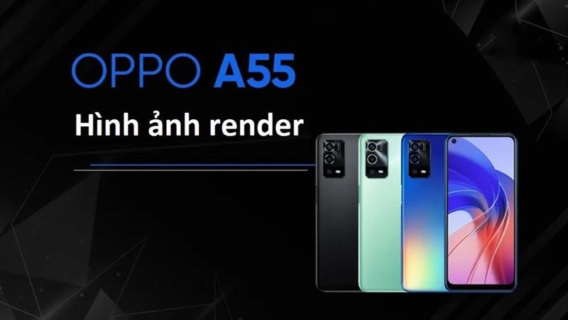 Render OPPO A55 4G