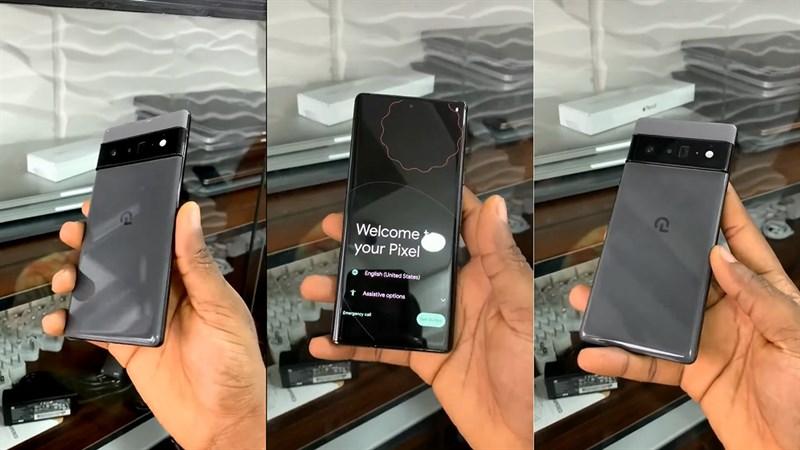 Pixel 6 Pro lộ video trên tay: Mặt lưng bóng, vuông vức sang trọng