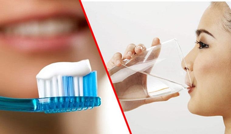 Súc miệng nước muối trước hay sau khi đánh răng sẽ tốt hơn?