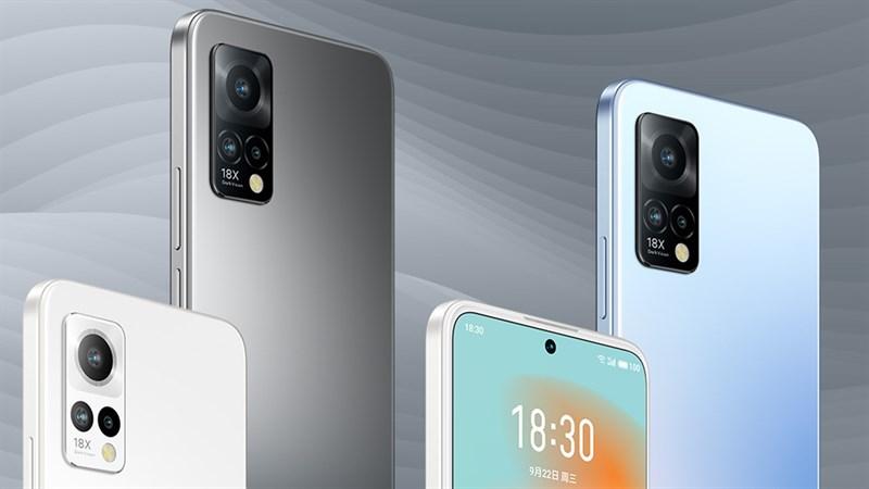 Meizu 18x chính thức được ra mắt: màn hình OLED 120Hz, Snapdragon 870