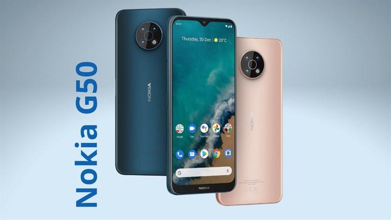 Nokia G50 ra mắt