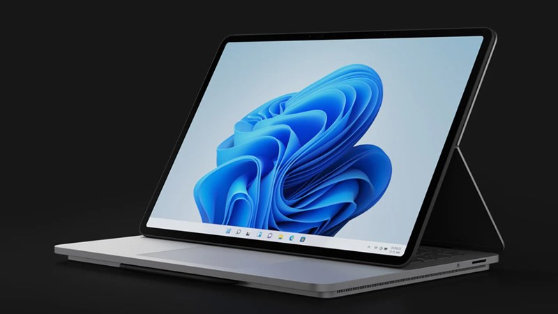 Surface Laptop Studio ra mắt với thiết kế lạ, chạy chip Intel mới nhất