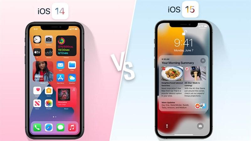 Báo cáo cho thấy mọi người ít quan tâm đến iOS 15 hơn so với iOS 14