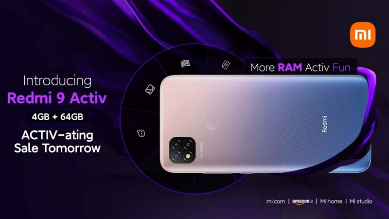Redmi 9 Activ ra mắt